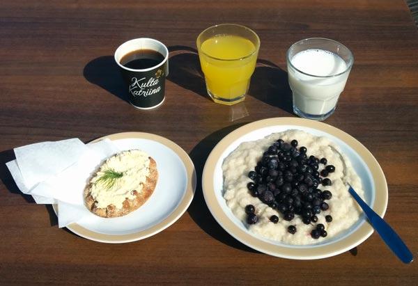 puuro-aamiainen
